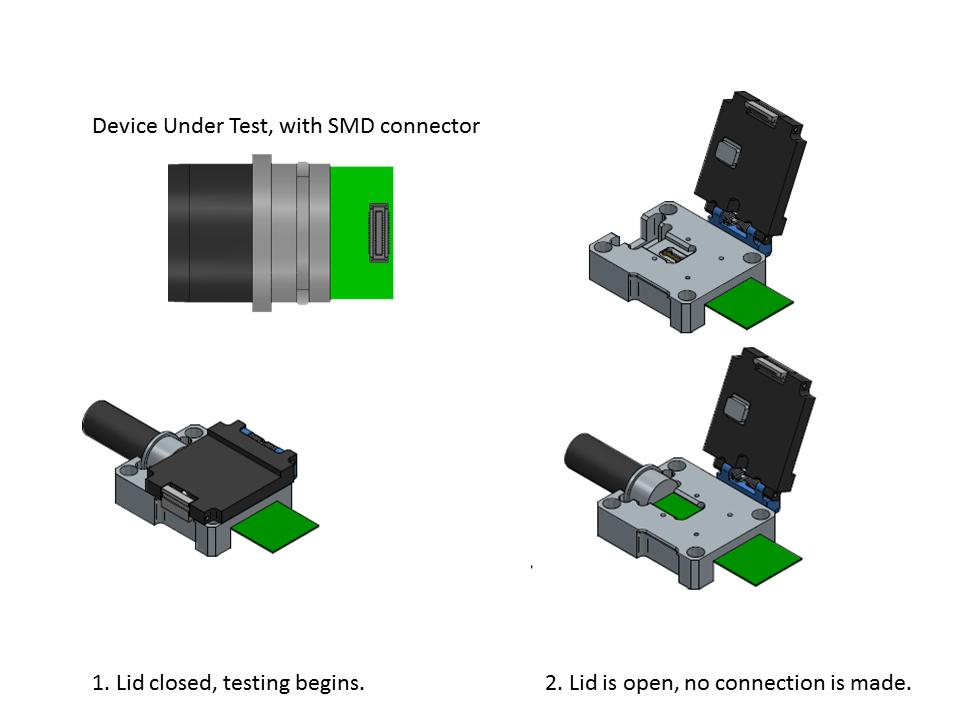 SMD Test Fixture Diagram